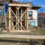 Нова постройка в с.Въбел