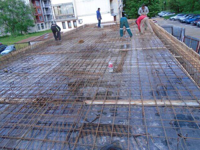 Груб строеж на гаражи в град Плевен от Вълковстрой инженеринг