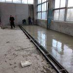 настилка от бетон