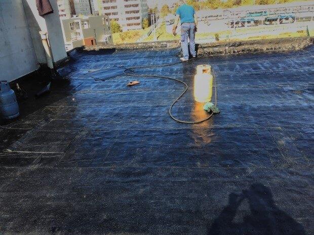 Хидроизолация на покрив - 227 блок