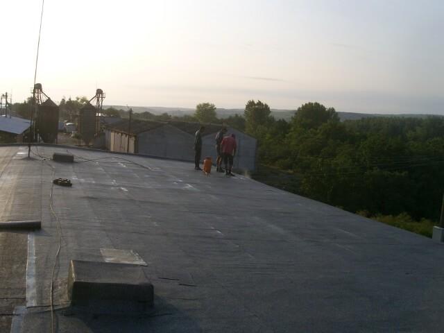 обект в с. Садовец, покрив