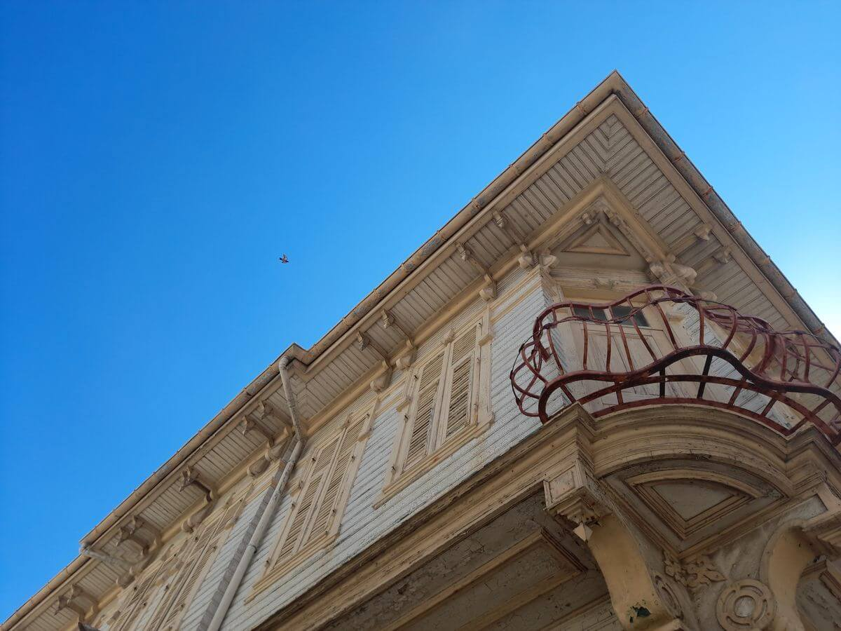 Реставрация на сгради паментници на културата 4 - небе